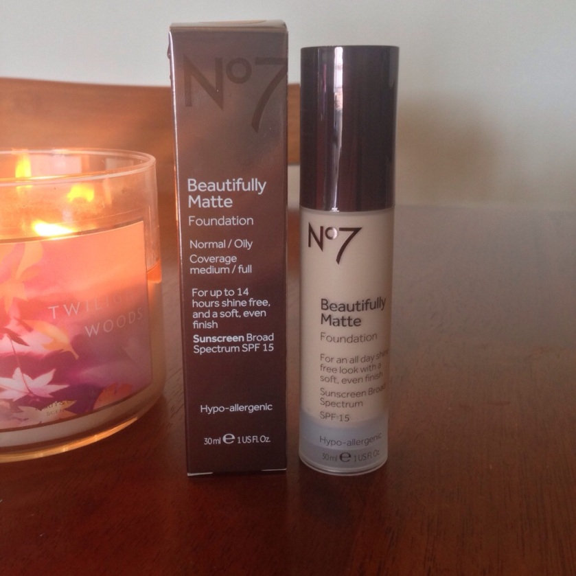 No7 Beautifully Matte Foundation for Normal/Oily skin
