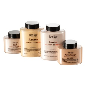 Ben Nye Luxury Powders for setting under eye concealer and for highlighting