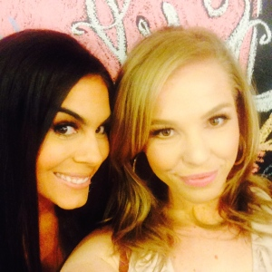 Annabelle and I at BeautyCon LA