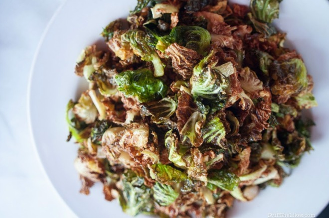 Crispy Brussels Leaves from La Poubelle Bistro. These things are truffle-tastic. Image from La Poubelle's website.