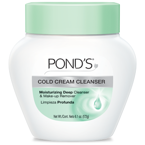 Ponds Cold Cream Cleanser is a super gentle eyemakeup remover