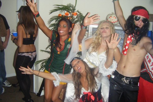 """Ah to be young. 2008- """"goddess"""" yikes. Fun party though."""